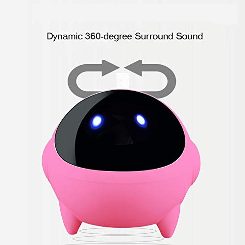 ZengBuks Mini USB Laptop Lautsprecher Box Small Sound Tragbarer Sound Astronaut - Pink