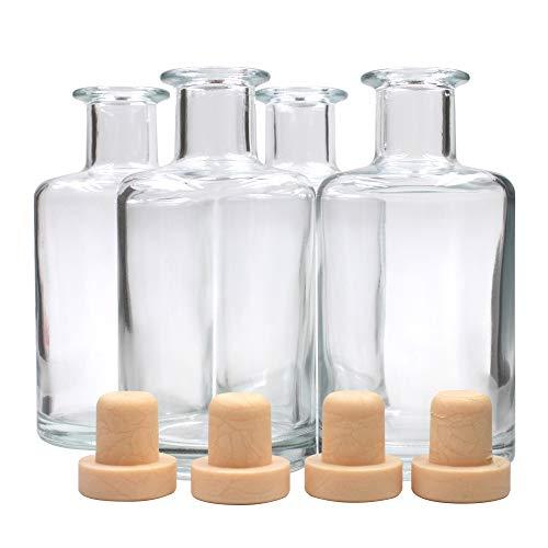 Frandy House リードディフューザー用 ガラスボトル 瓶 240ML #6813