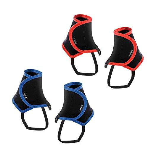 F Fityle 2 Paires Couvre-Chaussures Anti-Sable Anti-Insectes Vêtements Sports Guêtres Imperméables