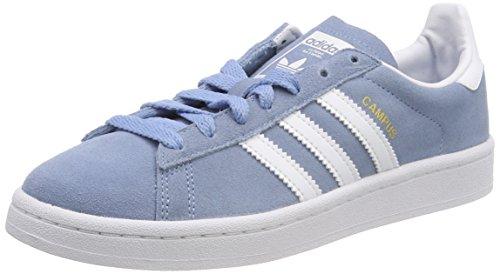 adidas Boy's Unisex Kids' Campus C Fitness Shoes, Blue Azucen Ftwbla Ftwbla 000, 10 UK Child