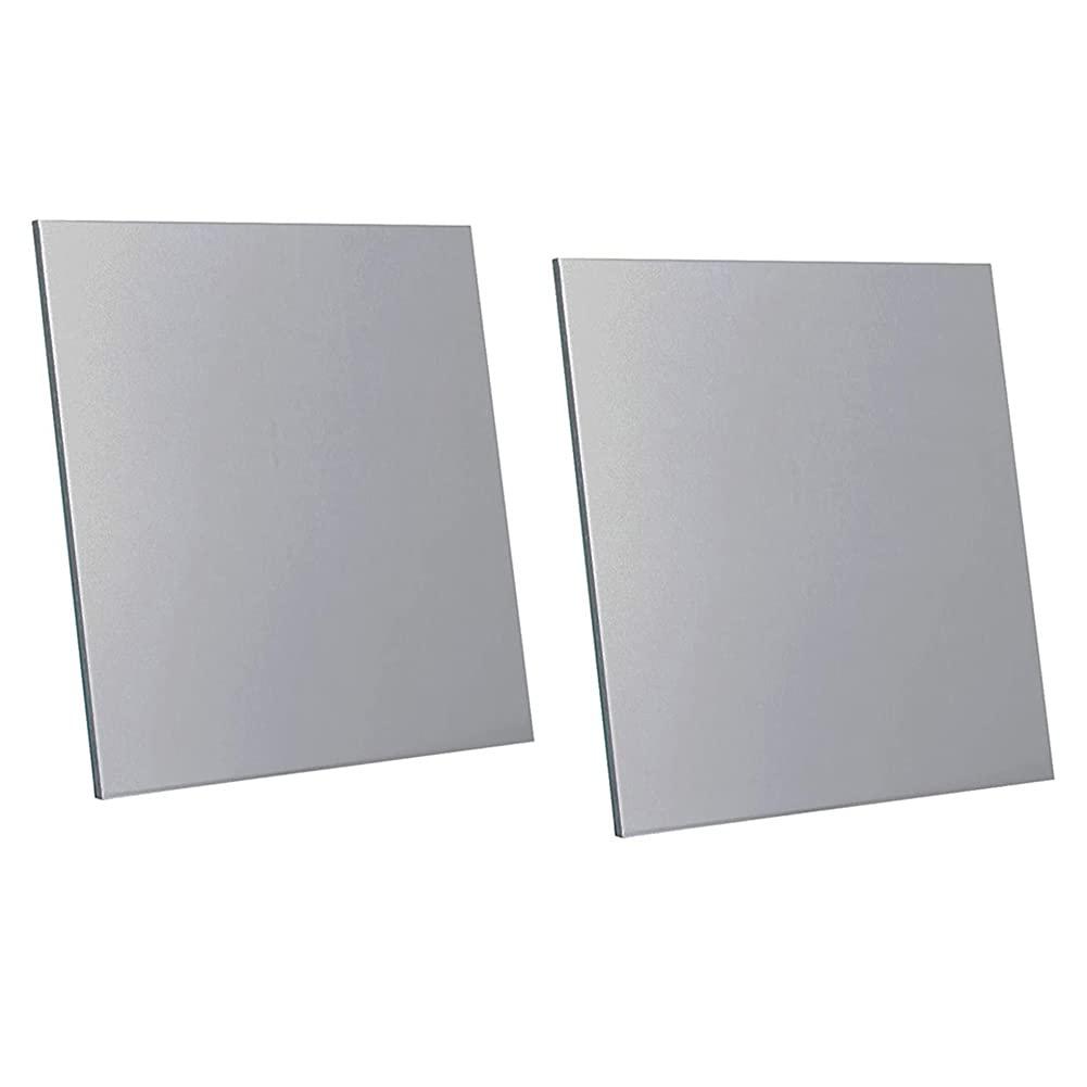 Placa de aluminio puro 1060 de 2 mm x 200 mm x 200 mm (5 piezas) Puede tratarse con calor y ser resistente a la corrosión