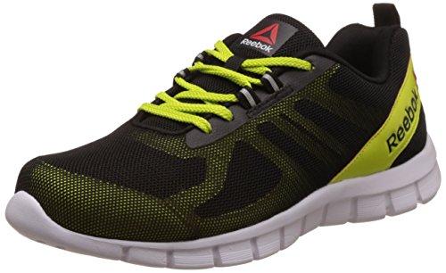 6. Reebok Men's Super Lite Slate, Gry, Blk, Slvr and Wht Running Shoes