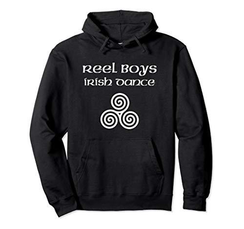 Celtic Knot Triskele Reel Boys Irish Dance Feis Boy Dancer Pullover Hoodie