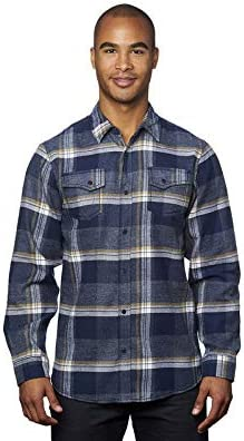 Burnside - Snap Front Long Regular dealer Plaid Ranking TOP10 Flannel Shirt 8219 Sleeve