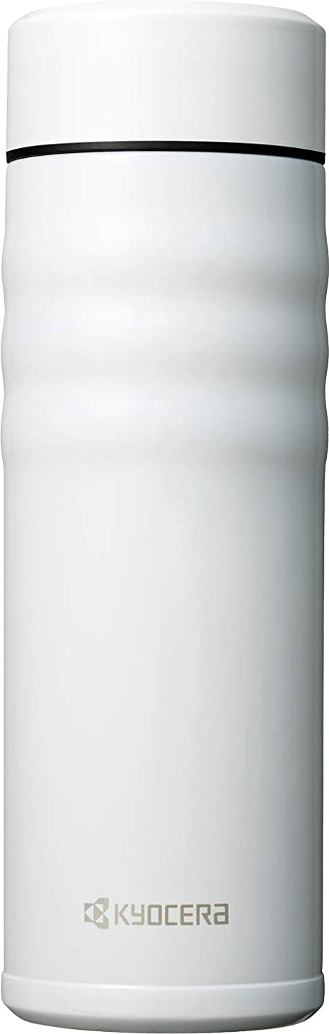ラグ後ろ、背後、背面(部導入する京セラ(Kyocera) マグボトル ホワイト 500ml セラブリッドマグボトル スクリュー栓 MB-17S WH