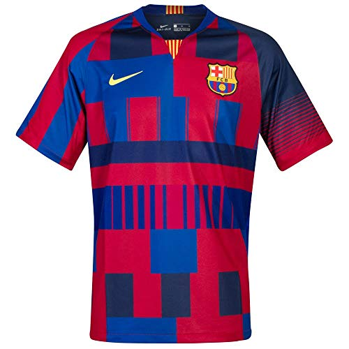 Nike Men's Soccer F.C. Barcelona 20th Anniversary Home Jersey (Small)