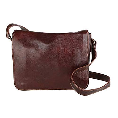 LUIGI BENETTON Victor Line Sac en cuir fabriqué en...