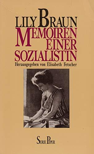 Memoiren einer Sozialistin. Roman.