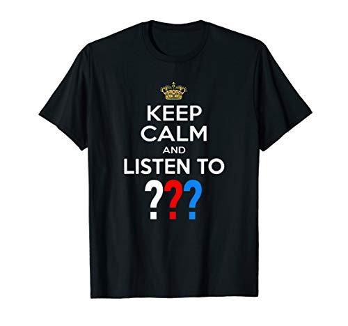 3 Detektive - 3 Fragezeichen - Drei Detektive - Keep Calm T-Shirt