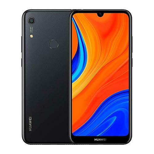 Huawei Y6s 32 GB 6.09 Inch FullView Smartphone, Android 9.0 Sim-Free Mobile Phone, Quad Core Chipset, 13 MP Rear Camera, Face Unlock and Fingerprint Sensor, 3 GB RAM, UK Version, Starry Black
