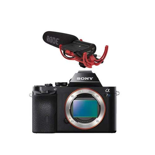 Sony Alpha a7S Mirrorless Digital Camera Full Frame, 12MP - Bundle with RODE VideoMic with Rycote Lyre Suspension System