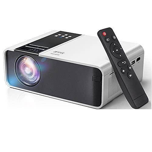 SHDREAM Proyector, proyector WiFi Bluetooth, Nativo 1280 X 720P LED Proyector WiFi de Android, Soporte Android/iOS Teléfonos móviles, Keystone +/- 40 Grados, Zoom 75-100% Video Home Theatre