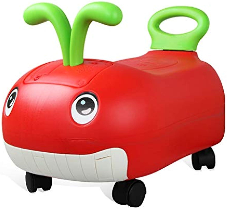 Kinder-Musik-Roller Kinder-Spielzeugauto Yo Auto kann 1-3 Jahre alten Roller sitzen Xuan - worth having (Farbe   rot)