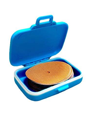 FixTape Over-Tape für Freestyle Libre 1 & 2 in praktischer Box I Patch selbstklebend mit Loch für Glukose-Sensor I hautfreundlich & wasserfest in modernen Designs I 30 Stk (Beige)