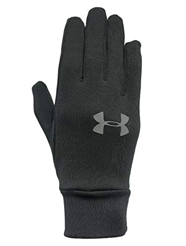 Under Armour Armor Liner 2.0 Gants Homme, Black/Graphite (001), FR (Taille Fabricant : XS)