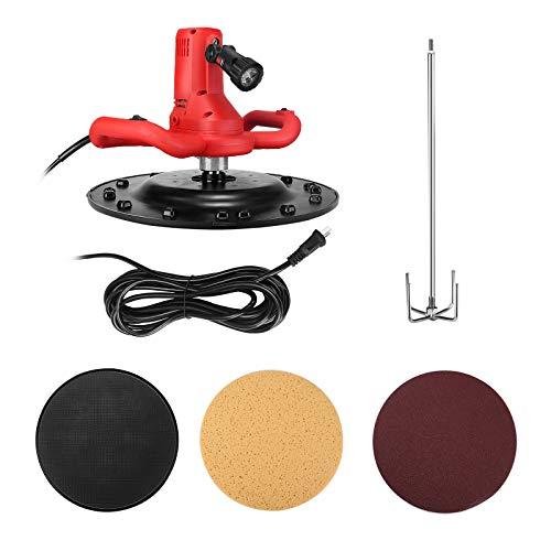 4YANG Cazzuola Quadrata Miscelatore Cemento e Malta 2 in 1,Maniglie Ergonomiche 1700W - 80-200 RPM -4M Cavo di Alimentazione -Sei Velocità Regolabili per Usines Entreprises (rosso)