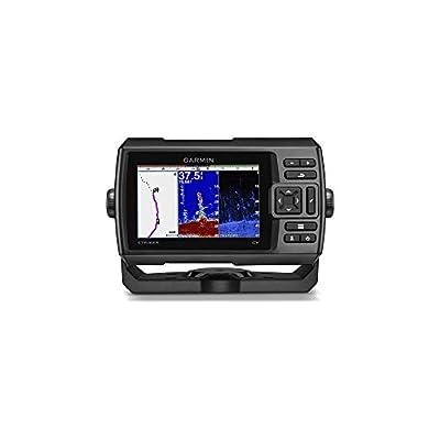 Garmin Striker Plus 5Cv GPS Fish Finder with GT20 Transom Mount Transducer, 010-01872-01