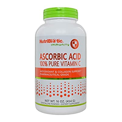 NutriBiotic, Ascorbic Acid, Crystalline Powder, 16 oz (454 g) from NutriBiotic