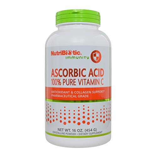 NutriBiotic, Ascorbic Acid, Crystalline Powder, 16 oz (454 g)