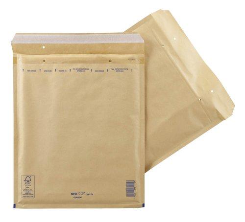 Preisvergleich Produktbild aroFOL® CLASSIC Luftpolster-Versandtaschen braun Innenmaße 28, 0 x 34, 0 cm (BxH)
