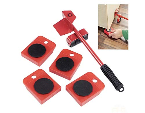 Furniture Sliders Heavy Furniture Shifter Moving Wheels Rolling Kit Roller Tool Sets Furniture Lifter Casters Kits 360 Degree Rotatable Pads for Sofas Couches Tables Chairs Wardrobe