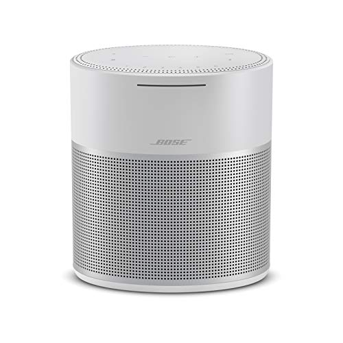 Bose Home Speaker 300, with Amazon Alexa built-in, Silv