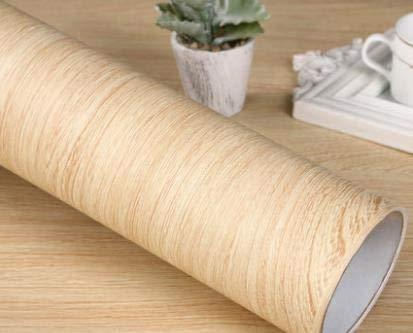 Jidan Verdicken wasserdicht Selbstklebende Tapete Farbfilm alte Möbel Kleiderschrank Schreibtisch Renovierung Aufkleber Holzmaserung Aufkleber (Color : NO 18, Dimensions : 40cm x 5m)