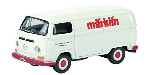 Schuco 452622700 - VW T2 Märklin Maßstab 1:87, rot/weiß