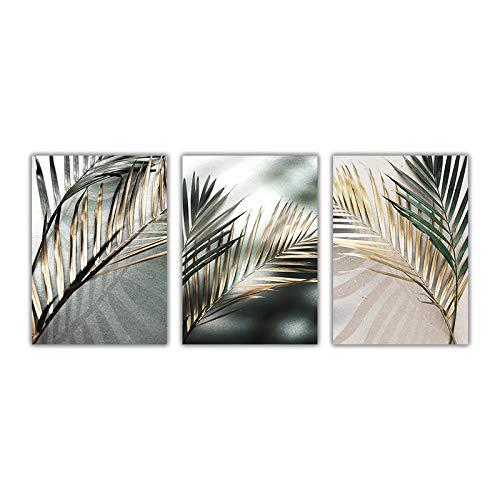 WENYOG Toile Image Peinture Toile végétale Peinture Arbre Mural botanique Affiche Imprimer décoration Illustration Illustration décoration Maison Toile Murale Deco