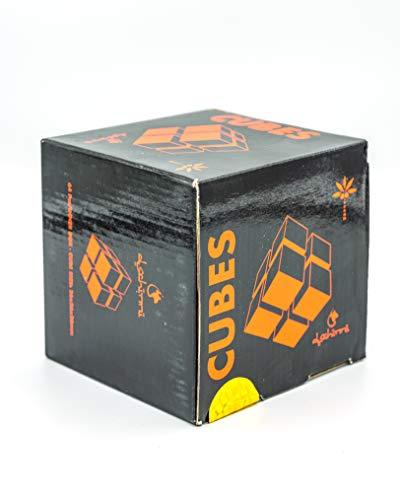 Dschinni Cubes Deluxe 1 KG Premium Shisha Kohle Naturkohle Kokosnuss und BBQ