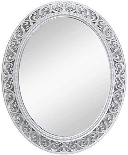 ShiSyan Oval Hueco Baño Espejo de Maquillaje, a Prueba de Agua Colgante de Pared Decorativo de Belleza Espejo, Espejo Vestir (Color: # 1) Espejos
