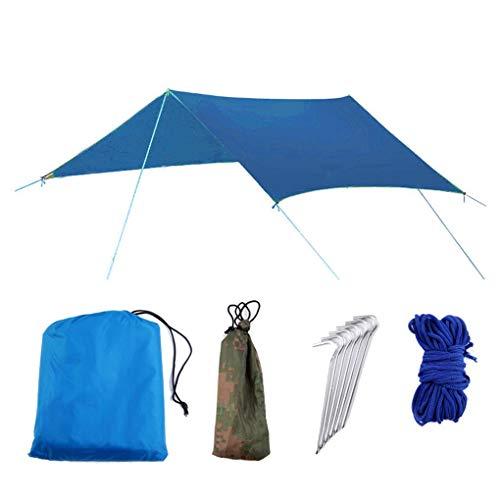 Qinghengyong Al Aire Libre de múltiples Funciones del Acampar pérgola Pabellón Impermeable Sun Beach ive Pergola Parasol Suministros Tienda de campaña