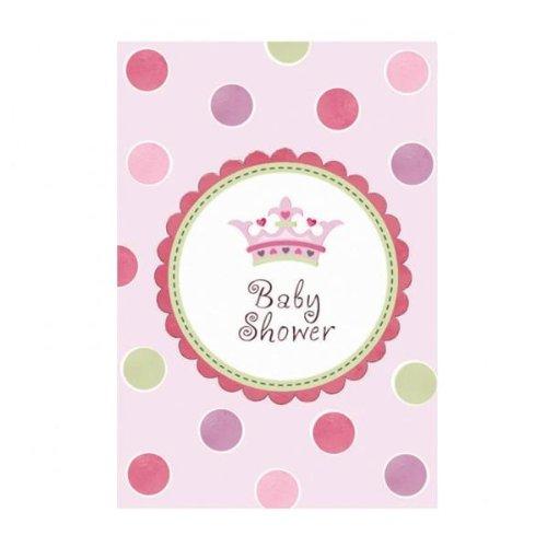 Une nouvelle petite princesse bébé douche Invitation