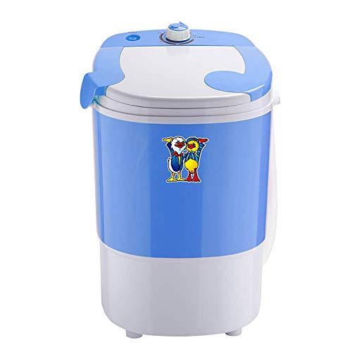 OCYE Mini Lavatrice Portatile Che va Ovunque - Ideale per la Pulizia di Vestiti - Lavaggio 2,5 kg - 2 kg Asciutto - Blu