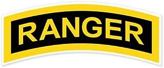 US Army Ranger Tab car bumper sticker window decal 6