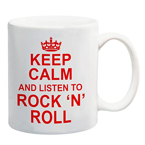 Le mug Keep Calm and Listen to Rock'n'roll