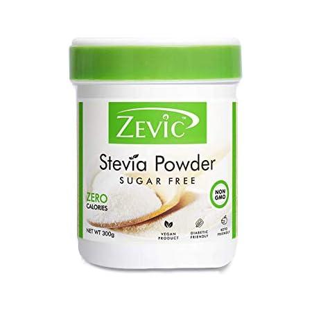 Zevic Sugar Free 100% Natural Stevia Powder - 300 g