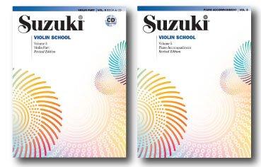 Suzuki violín School, volumen 5, parte para violín con acompañamiento de CD y Piano Accompaniment Book–Libro de dos Set