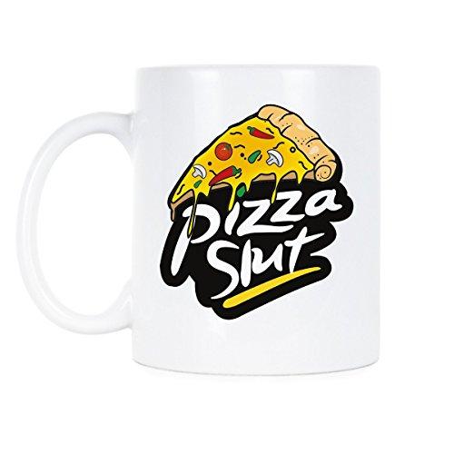 Pizza Slut Mug Pizza Funny Mug