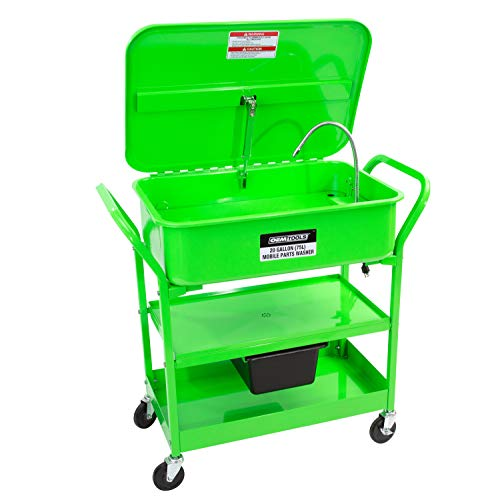 Our #1 Pick is the OEM TOOLS 24805 20 Gallon Mobile Parts Washer