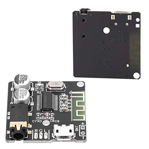 01 Módulo de reacondicionamiento del Amplificador, Placa decodificadora Bluetooth Módulo Reproductor de decodificación de Audio de Alta fidelidad para Audio Bluetooth para Audio doméstico para