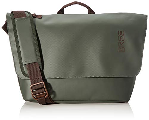 BREE unisex_adult PNCH 731 messenger bag Satchel, Green (Climbing Ivy), Medium