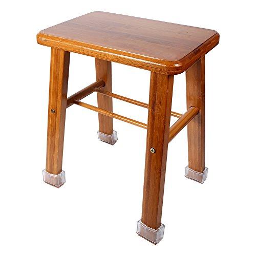 8 Stück/Set Stuhl Bein Bodenprotektoren Rechteck Möbel Beine Protektor mit Gummisohle Stuhl Gleitet Füße Kappen Wohnaccessoires Möbel Protektor für Wohnzimmer Schlafzimmer Büro