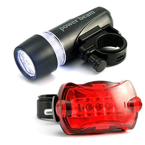 5 LED 5 Mode Fiets Mountainbike BMX Fietslampen Hoofd en Achterlamp Nieuwe Q26