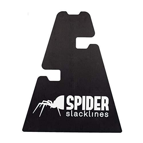 SPIDER SLACKLINE 17331-3 Height Stand Slackline - Set 2X Holz Unterstützung - DREI Höheneinstellungen 30-50 - 70 cm - Slackline Zubehör, Boden - Made in Italien