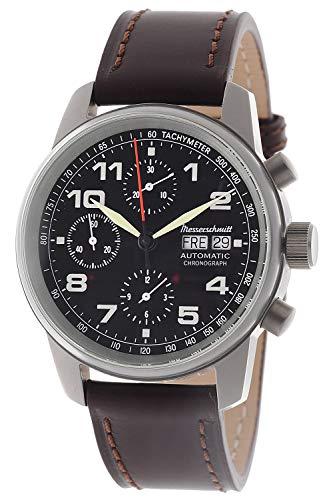 Messerschmitt Herren-Automatikuhr Flieger-Chronograph ME-3H129