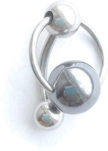 TOOLSSIDE Vch Piercing Jewelry - Vertical Hood Piercing Jewelry for Women 14G Surgical Steel Piercings for Genital Piercing