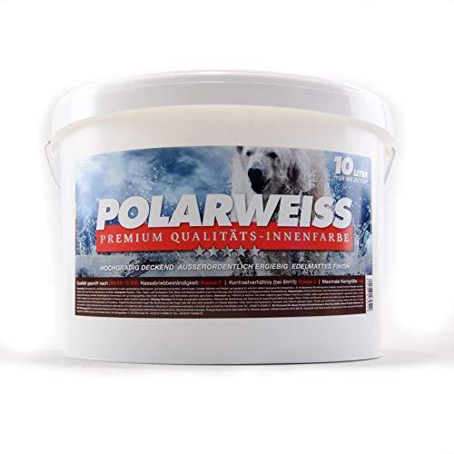 Innenwandfarbe Polarweiss weiss matt 10l