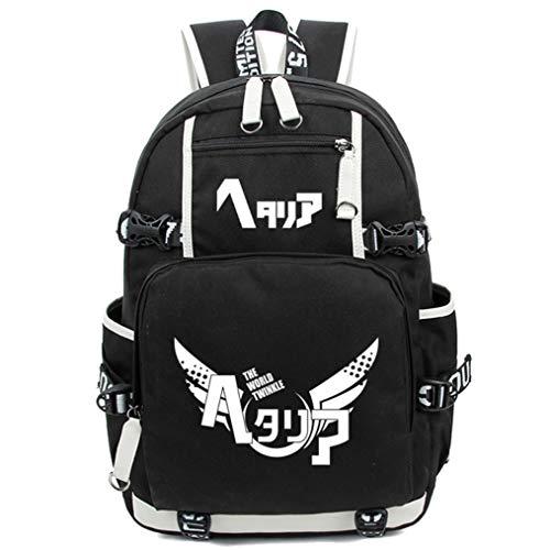 Cosstars Hetalia Axis Powers Leuchtend Anime Rucksack Schulrucksack Backpack Schultasche