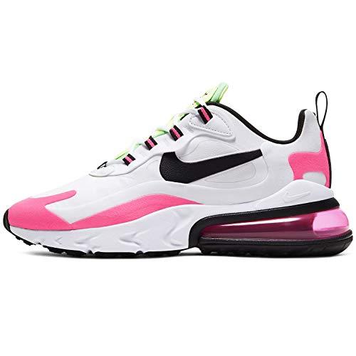 Nike Womens Air Max 270 React Casual Running Shoe Cj0619-101 Size 7